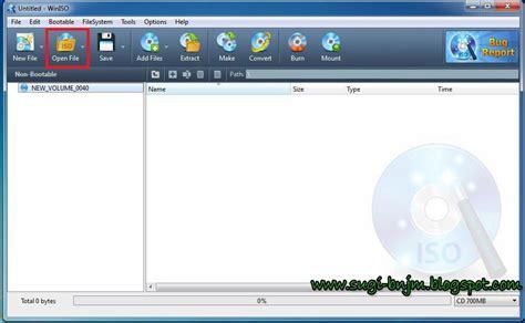 membuat cd bootable win xp sp3 tutorial cara membuat cd bootable windows xp dengan