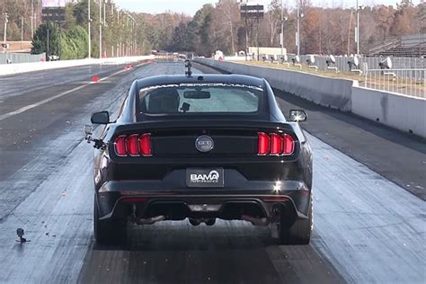 what mustang is the fastest fastest 2015 mustang gt hits quarter mile in 9 seconds