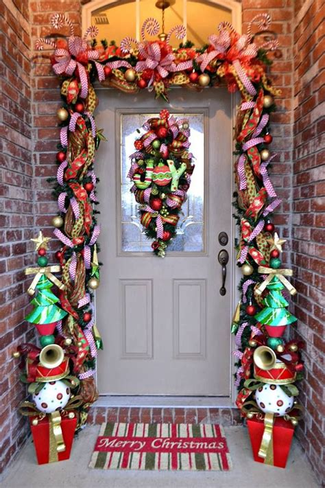 christmas front door decor how to achieve the perfect front door decor this christmas