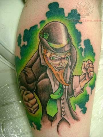 lean tattoo taturday leprechaun tattoos smosh