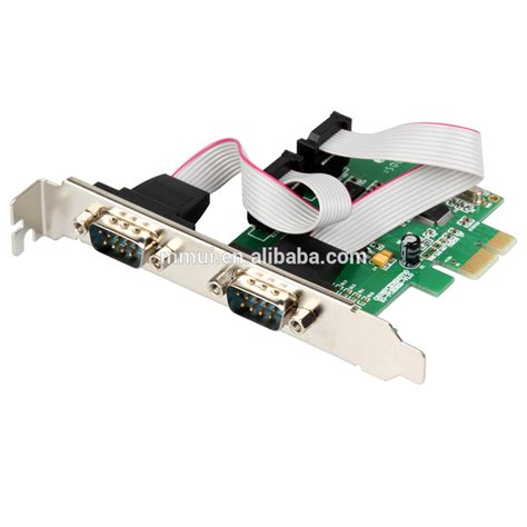 Io Card Pci 2 X Serial 1 X Parallel Port High Quality Speed io crest 2 port serial pci e 1 0 x 1 with and low