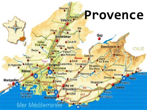 provence france map free printable maps detailed map of provence france pictures to pin on