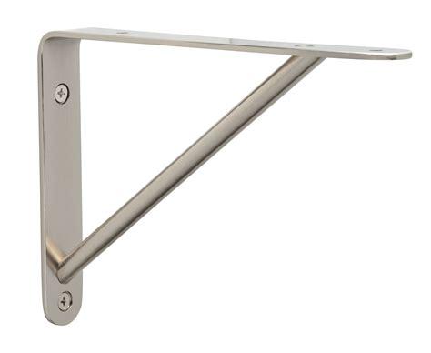 20 Shelf Bracket by Cascadia Modern Shelf Bracket Crm 20 Sn Satin Nickel Ebay