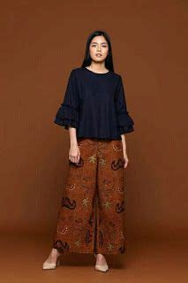 Gabby Kulot 7 dari 50 lebih gambar model baju batik modern terbaru