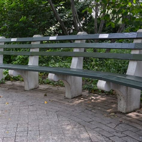 concrete and wood park benches concrete and wood park bench kenneth lynch and sons