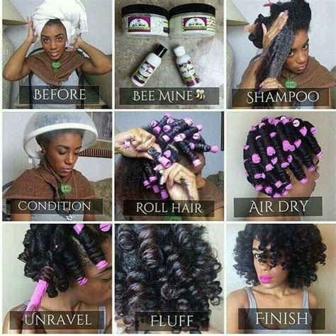 whst size of perm rollers do i need for loose perm how to do a perm rod set on natural hair natural hair