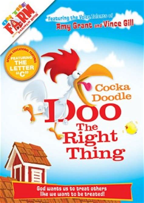 doodle do right on the farm cocka doodle doo the right thing dvd review