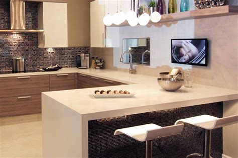trends  kitchen countertops overhang thickness
