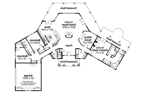View Home Plans by House Plans With A View House Plans With Views On The Rear