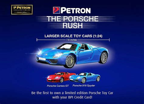 porsche petron petron brings back porsche with 1 24 scale die cast