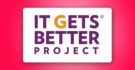it gets better get involved it gets better project give to lgbt