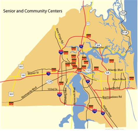 cojnet community  senior centers