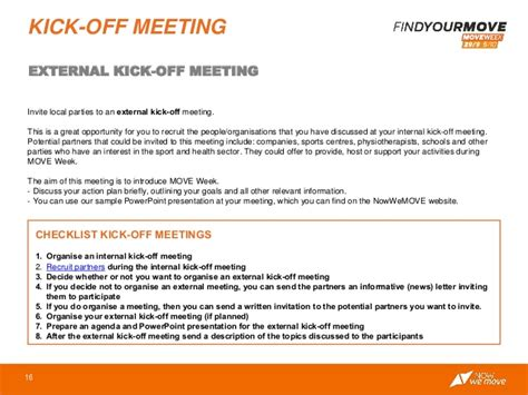 Project Kickoff Meeting Invitation Letter Sle Kick Meeting Sle Images