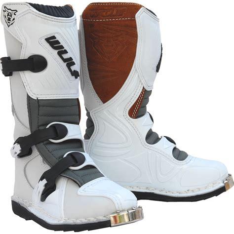 childrens motocross boots wulf cub la junior motocross boots wulfsoprt road