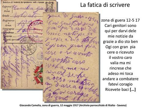 lettere di soldati della prima mondiale parole in trincea la memoria della grande nelle