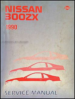 how to download repair manuals 1990 nissan datsun nissan z car electronic valve timing 1990 nissan 300zx repair shop manual original