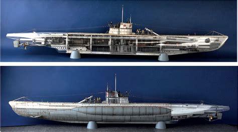u boat kit 1 48th scale wwii dkm u boat type viic u 552 model kit by