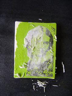 acrylic paint transfer artsy image transfer on