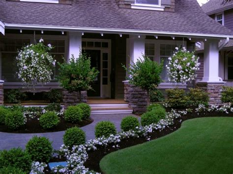 Front House Garden Design Ideas Landscape Modern Landscape Ideas For Front Of House Library Farmhouse Large Bedding