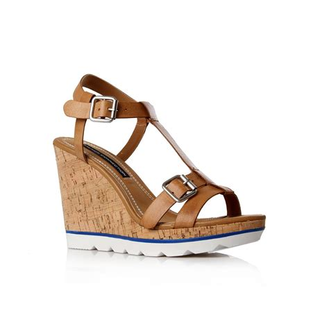 Bsw Wedges Camel 1 connection presto sfaa7 wedges in brown camel lyst