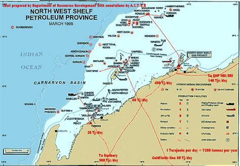 West Shelf Venture by 92 West Shelf West Shelf Project Map