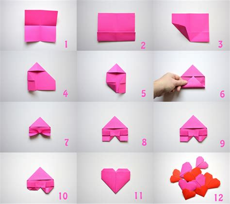 hoe vouw ik een bootje origami hartje tutorial png