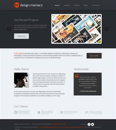 free website design 40 best design studio website templates free premium freshdesignweb