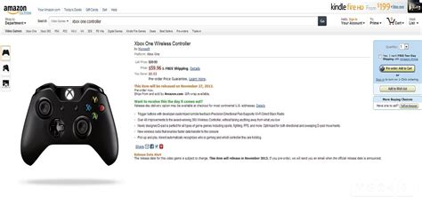 amazon xbox one ps4 xbox one controllers now available for pre order vg247
