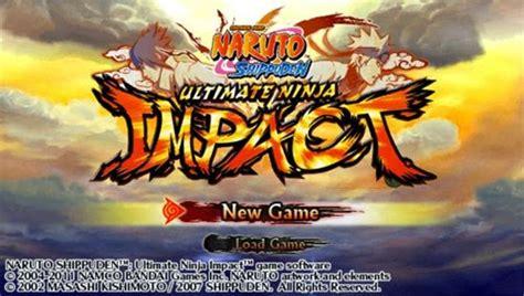 emuparadise psp naruto naruto shippuden ultimate ninja impact psp iso download
