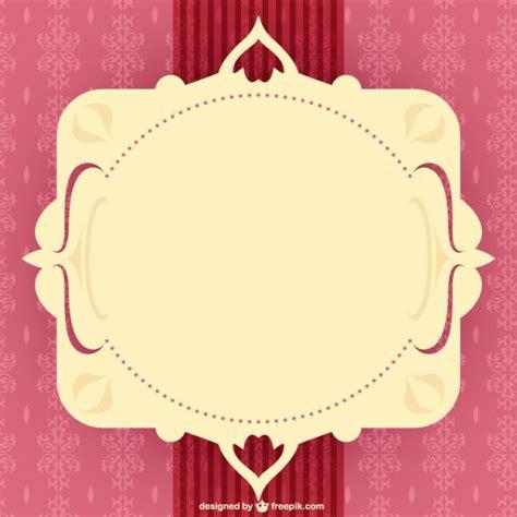 imagenes vectores gratis vintage vector de marco vintage con adornos descargar vectores