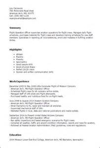 Flight Operations Manager Cover Letter by Airport Manager Resume Sle