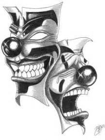 Laugh Now Cry Later Tattoos Outline by Icp Laugh Now Cry Later By Twizted Deviantart On Deviantart Flash Other