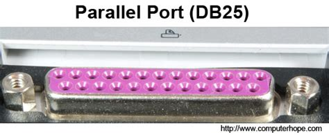 what is a parallel port
