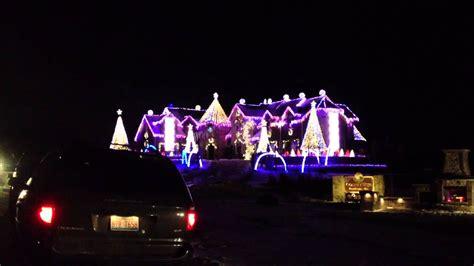 larsen christmas lights elburn il 12 18 13 youtube