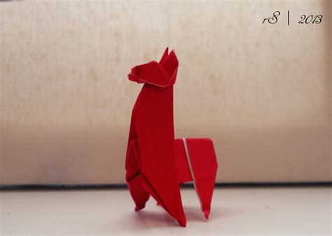 Origami Llama - 656 best images about origami on