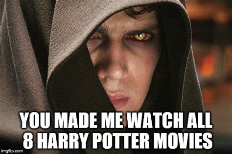 Anakin Skywalker Meme - anakin skywalker vs harry potter imgflip