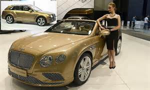 The Cost Of A Bentley Bentley To Start Production Of Suv Bentayga Next