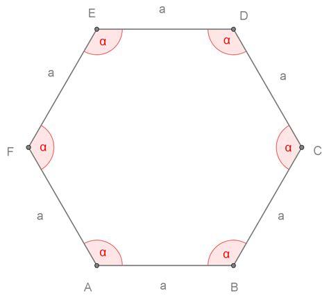 somma angoli interni poligoni esagono regolare openprof