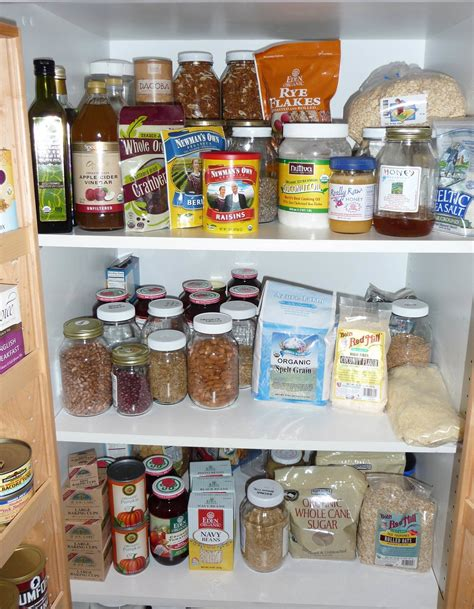 your pantry fridge with whole food gf cooking