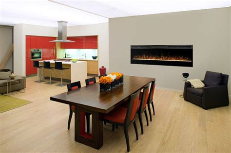 Electric Fireplace In Dining Room by Amazing Dining Rooms Dining Room Other