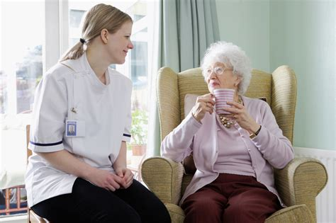 senior home health care on customers care and
