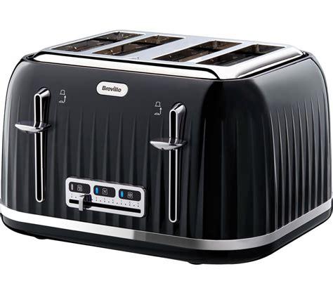 Brevelle Toaster Buy Breville Impressions Vtt476 4 Slice Toaster Black