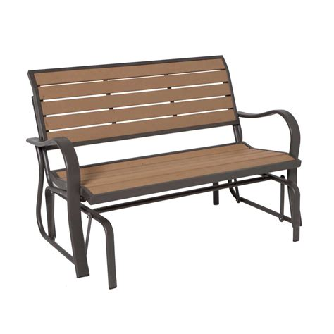 lifetime benches lifetime glider bench reviews wayfair