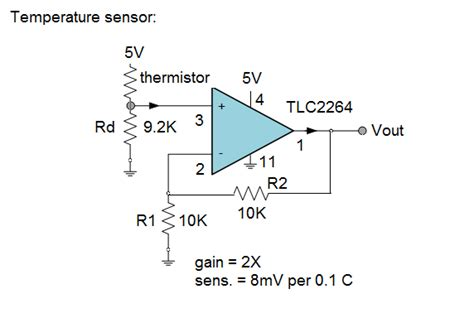 ntc thermistor circuit design thermistor temperature sensor schematic thermistor free engine image for user manual