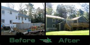 Cape cod home additions before and after