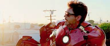 Robert downey jr iron man tony stark nick fury samuel l jackson gif4