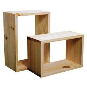 Wood Cube Shelf by New Wood Wooden Wall Cube Cubes Shelf Shelves