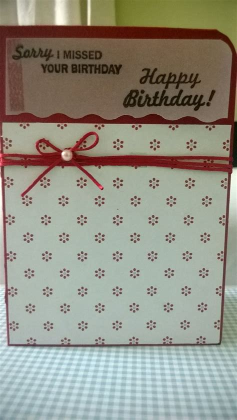 Patterned Paper For Card - vellum patterned paper birthday card my handmade