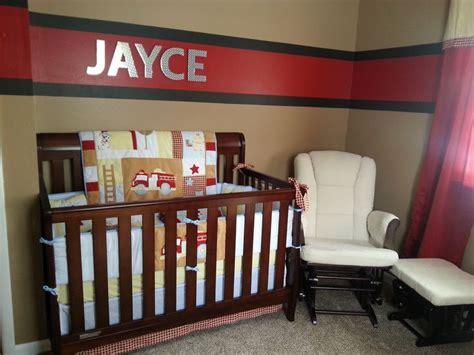 Fireman Crib Bedding Our Firefighter Nursery Baby