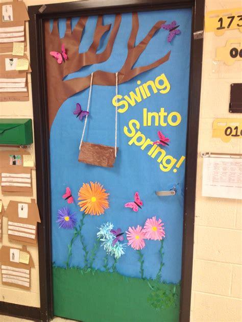 spring door decorations spring door rhyming kindergarten classroom doors